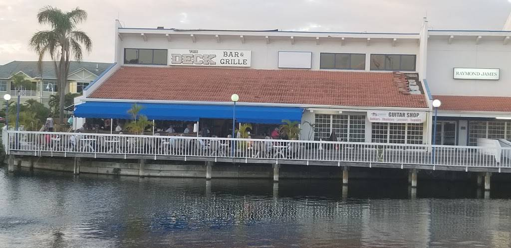 The Deck Bar & Grille   restaurant   5901 Sun Blvd #100, St. Petersburg, FL 33715, USA   7272899855 OR +1 727-289-9855