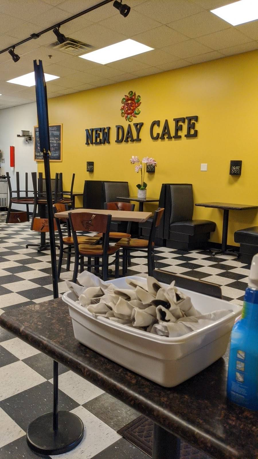 New Day Cafe | restaurant | 497 Olde Waterford Way STE 100, Leland, NC 28451, USA | 9107699036 OR +1 910-769-9036