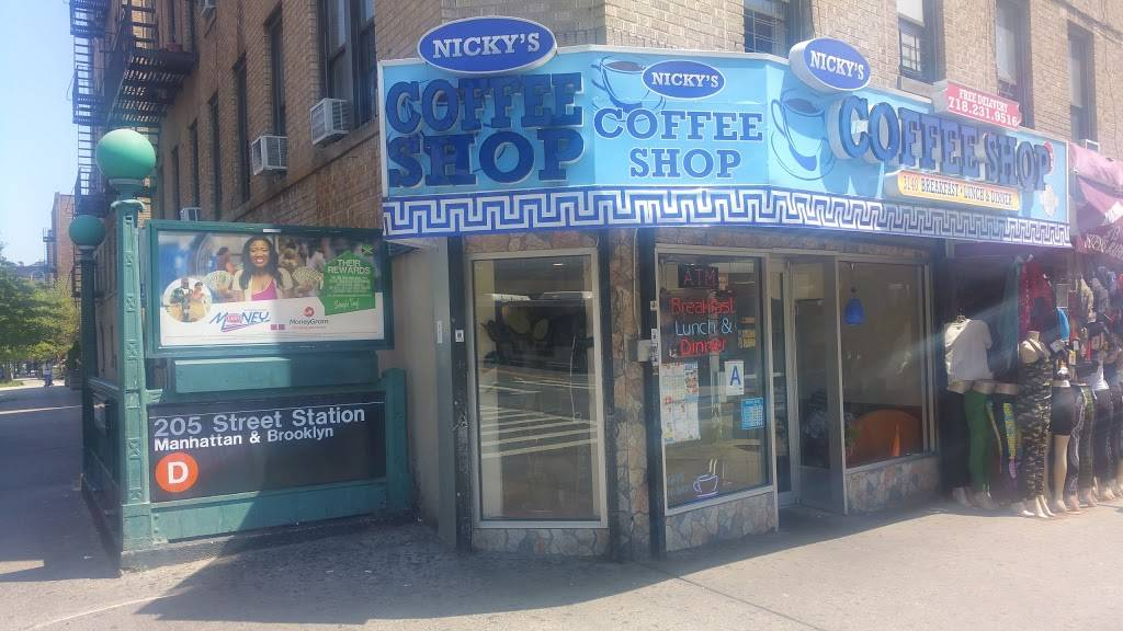 Nickys Coffee Shop Inc | cafe | 3140 Bainbridge Ave, Bronx, NY 10467, USA | 7182319516 OR +1 718-231-9516