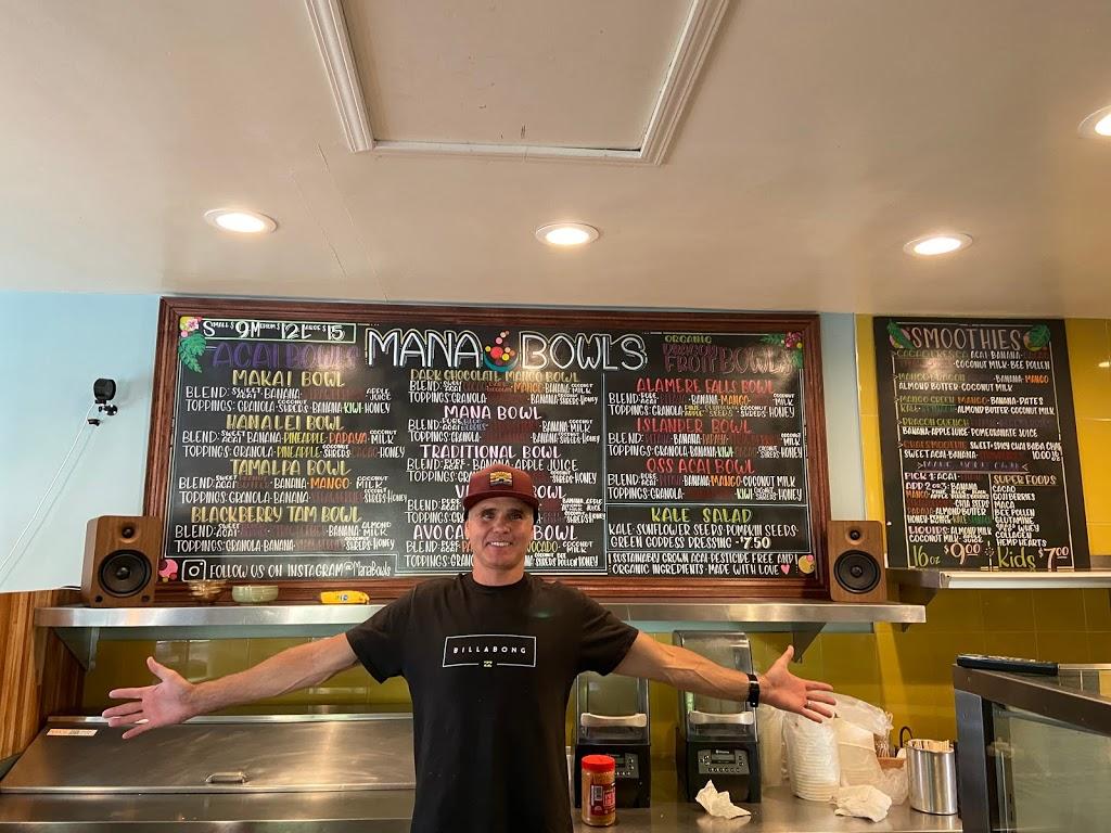 Mana Bowls Acai Cafe | restaurant | 1930 Sir Francis Drake Blvd, Fairfax, CA 94930, USA | 4155215921 OR +1 415-521-5921