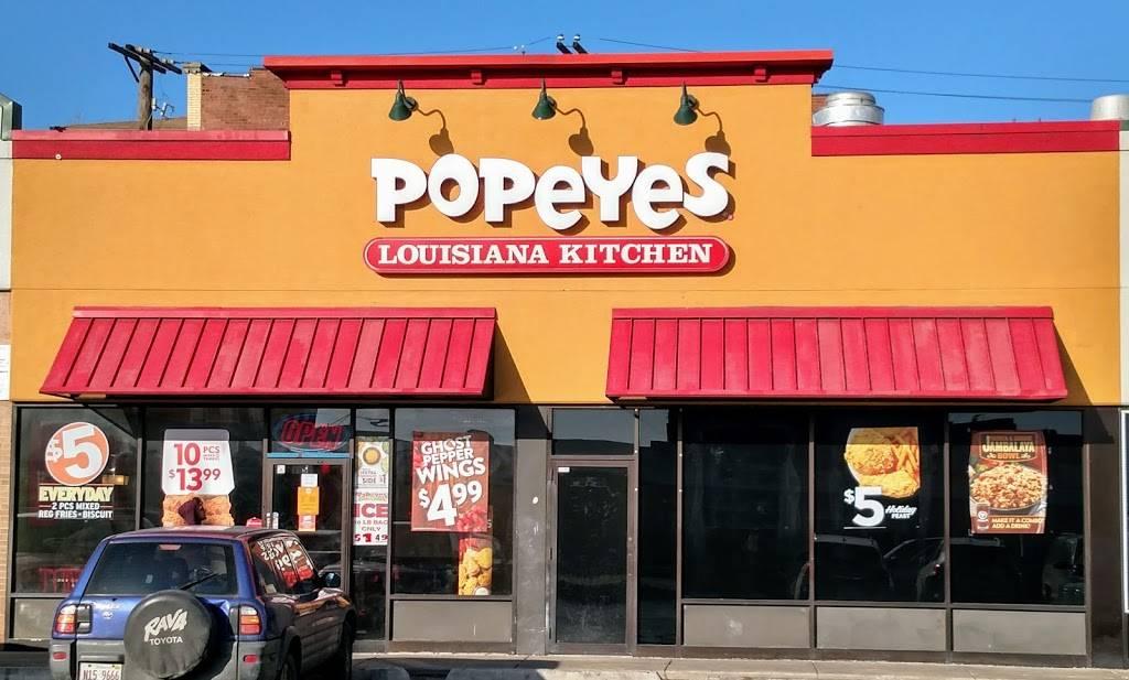 Popeyes Louisiana Kitchen Restaurant 3352 W Lawrence Ave Chicago Il 60625 Usa