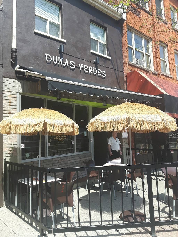 Dunas Verdes Cafe Inc | restaurant | 253 James St N, Hamilton, ON L8R 2L2, Canada | 9055224818 OR +1 905-522-4818