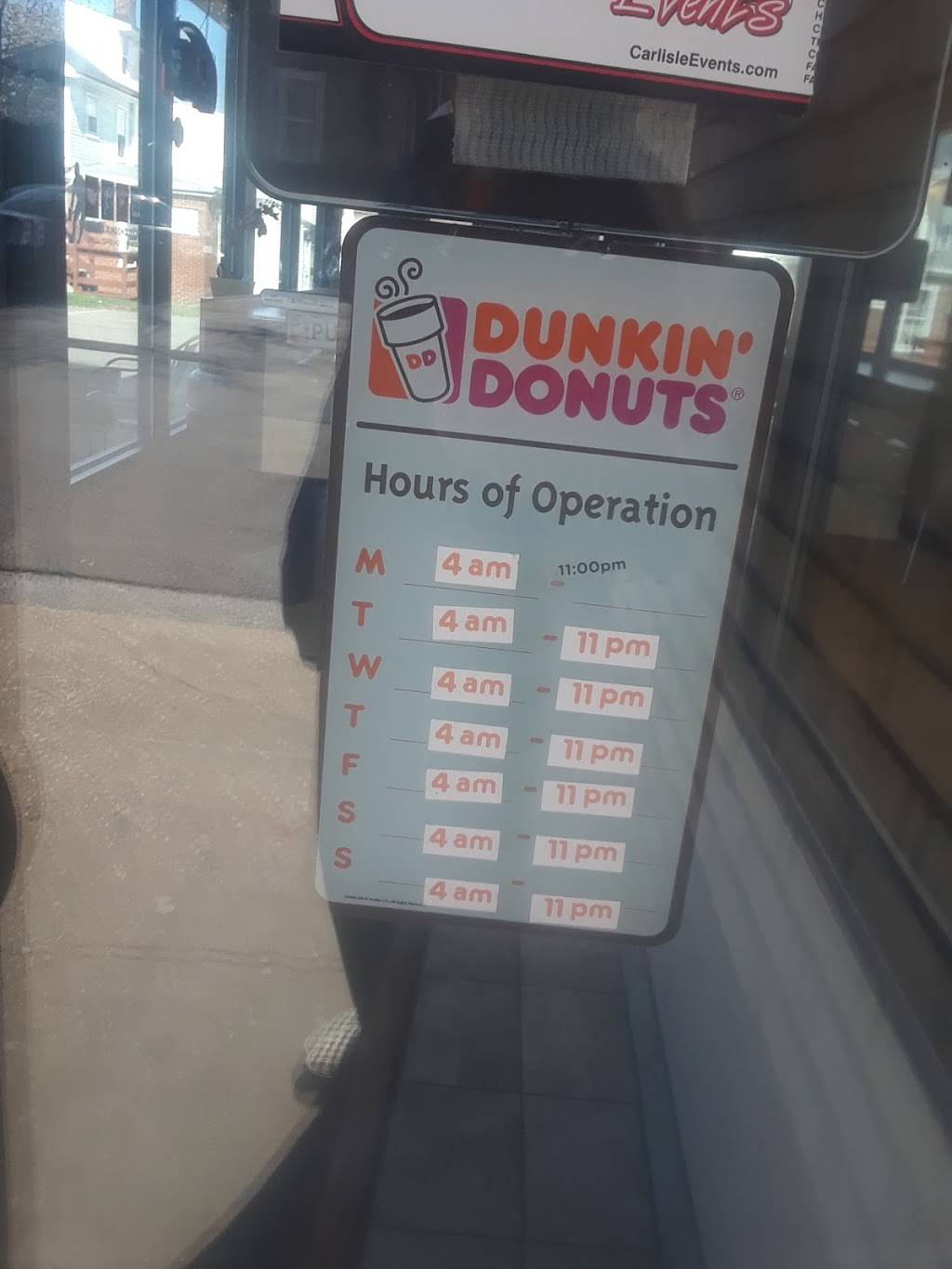 Dunkin | cafe | 1941 W Main St, Norristown, PA 19403, USA | 6105391398 OR +1 610-539-1398