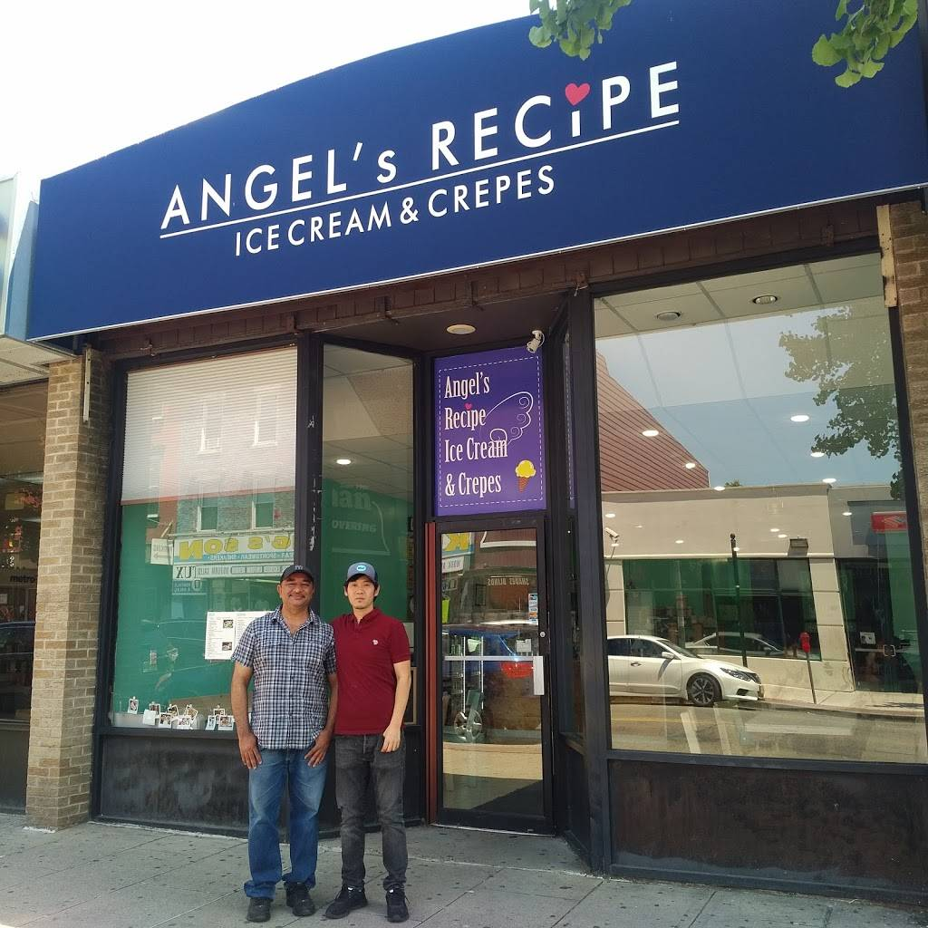 Angels Recipe Ice Cream & Crepes | restaurant | 312 Central Ave, Jersey City, NJ 07307, USA | 2013602399 OR +1 201-360-2399