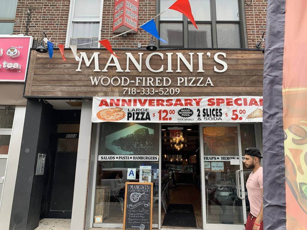 Mancini Pizza | meal delivery | 8504 5th Ave, Brooklyn, NY 11209, USA | 7183335209 OR +1 718-333-5209