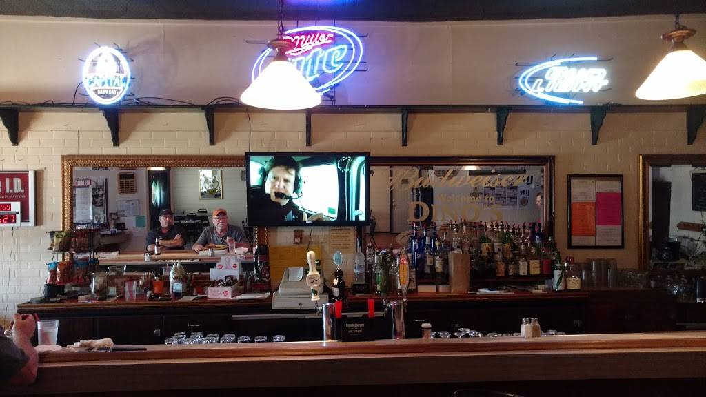Dinos | restaurant | 110 Diagonal St, Dodgeville, WI 53533, USA | 6089359380 OR +1 608-935-9380