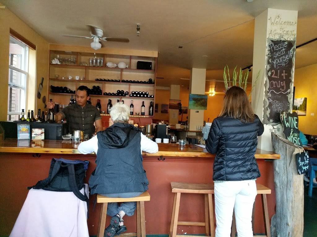 A Grape in the Fog | cafe | 400 Old County Rd, Pacifica, CA 94044, USA | 6507355854 OR +1 650-735-5854