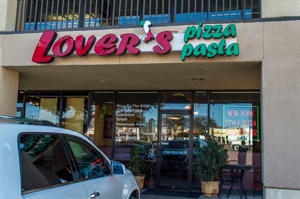 Lovers Pizza & Pasta | restaurant | 6434 E Mockingbird Ln #113, Dallas, TX 75214, USA | 2148232262 OR +1 214-823-2262