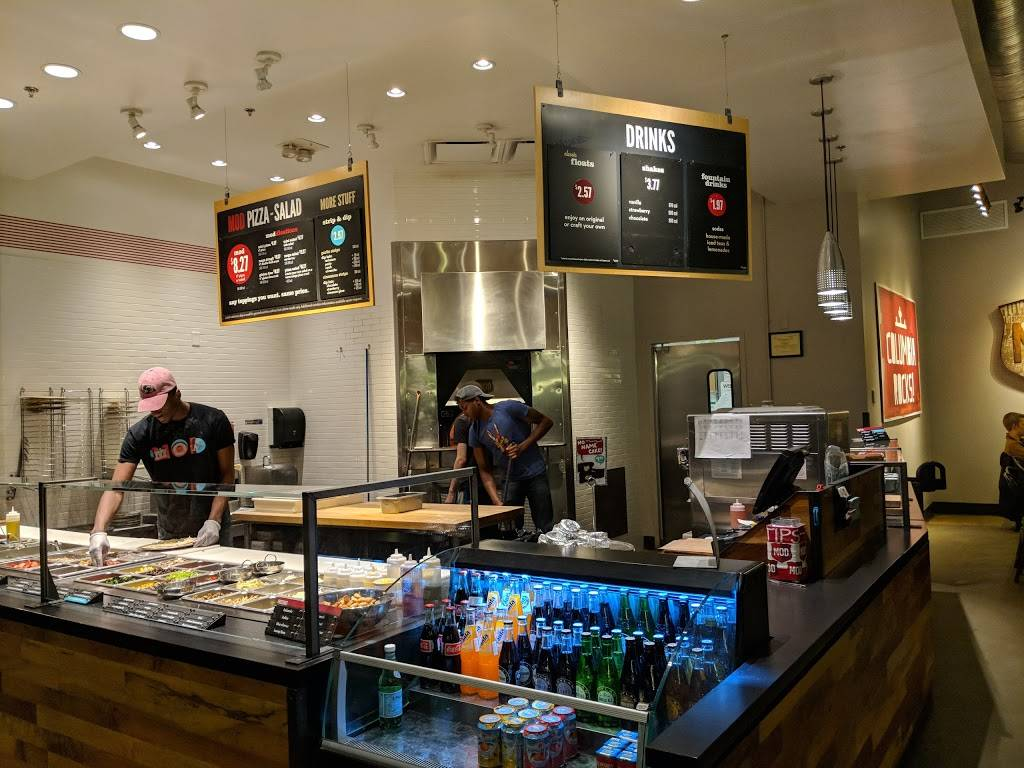 MOD Pizza | restaurant | 10000 Town Center Ave c, Columbia, MD 21044, USA | 2408655607 OR +1 240-865-5607