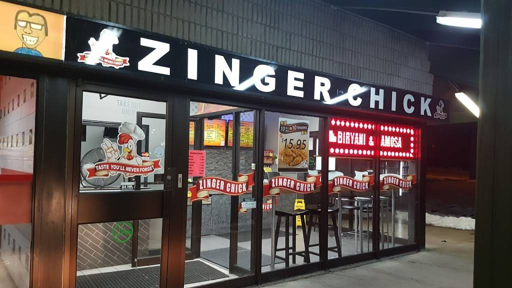 Zinger Chick | restaurant | 500 Willow Rd, Guelph, ON N1H 7G4, Canada | 5192658955 OR +1 519-265-8955