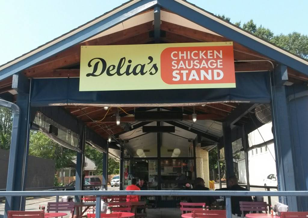 Delias Chicken Sausage Stand | restaurant | 489 Moreland Ave SE, Atlanta, GA 30316, USA | 4044749651 OR +1 404-474-9651