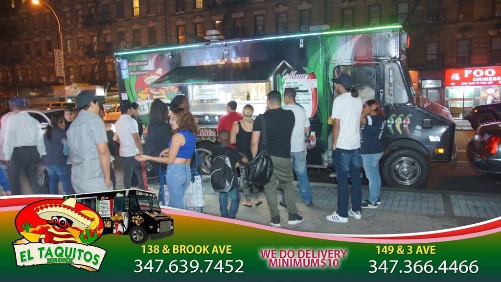 El Taquitos | restaurant | 138 Brook Ave, Bronx, NY 10454, USA | 3476397452 OR +1 347-639-7452