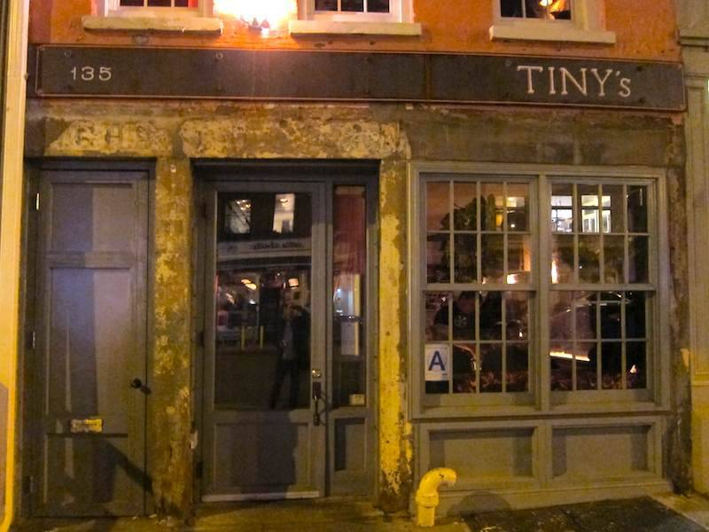 Tinys & The Bar Upstairs | restaurant | 135 W Broadway, New York, NY 10013, USA | 2123741135 OR +1 212-374-1135