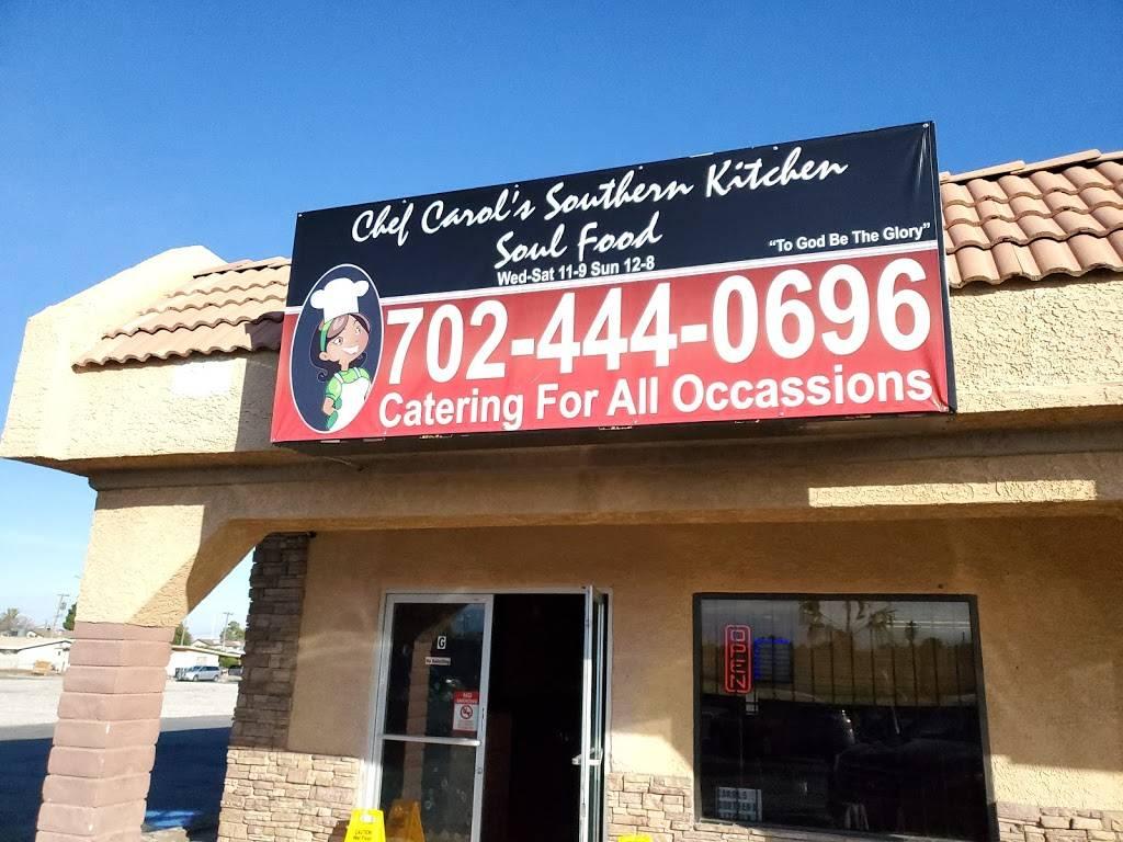 CHEF CAROL SOUTHERN KITCHEN | restaurant | 1100 N M.L.K. Blvd, Las Vegas, NV 89106, USA | 7024440696 OR +1 702-444-0696