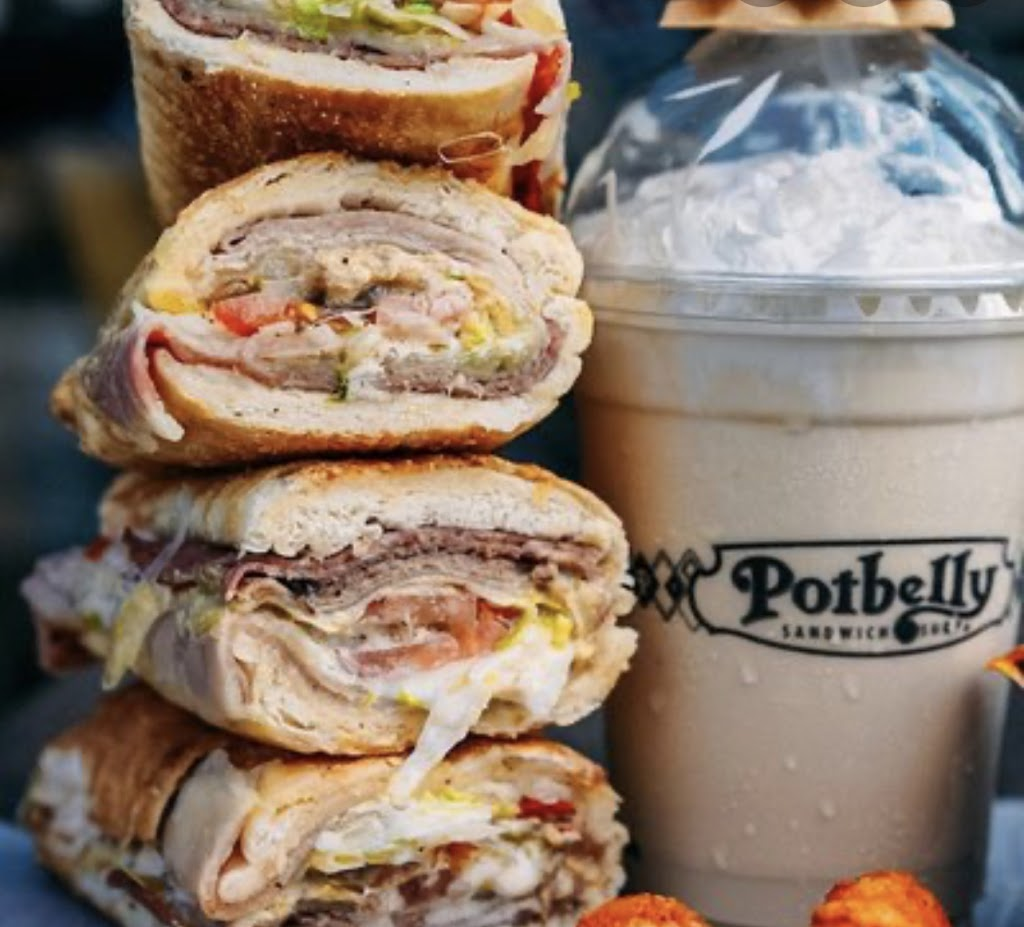 Potbelly Sandwich Shop | restaurant | Terminal C, near, Boston Logan International Airport, 100 Harborside Dr C11, Boston, MA 02128, USA