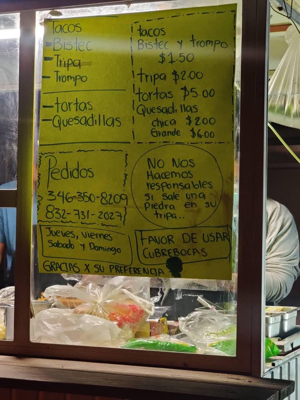 Taco stand | restaurant | 11006 Seven Mile Ln, Houston, TX 77093, USA