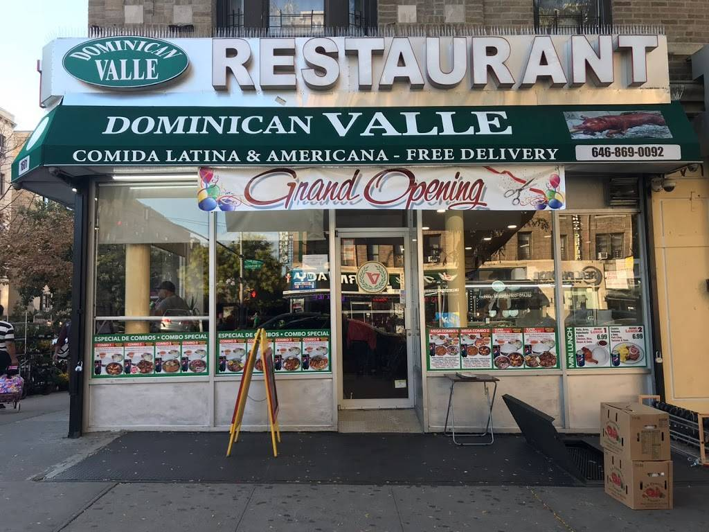 Dominican Valle | restaurant | 1601 St Nicholas Ave, New York, NY 10040, USA | 6468690092 OR +1 646-869-0092