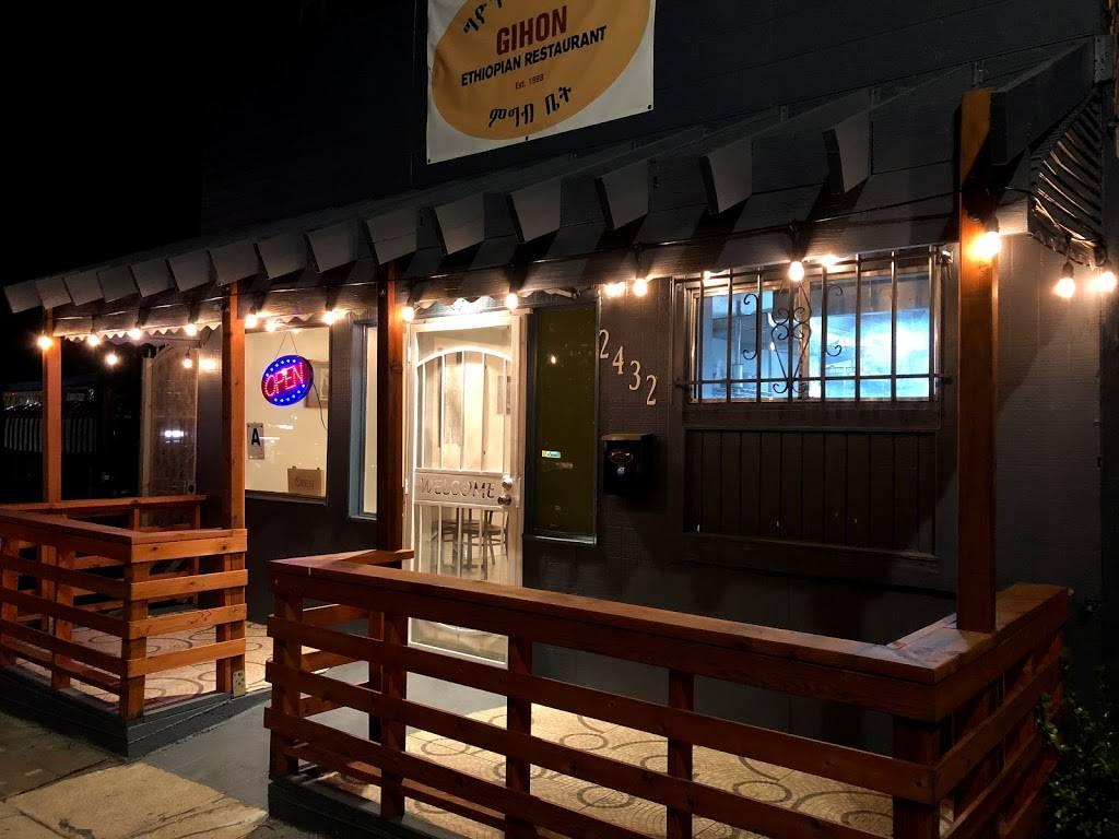 GIHON Ethiopian Kitchen   restaurant   2432 El Cajon Blvd, San Diego, CA 92104, USA   6192951125 OR +1 619-295-1125