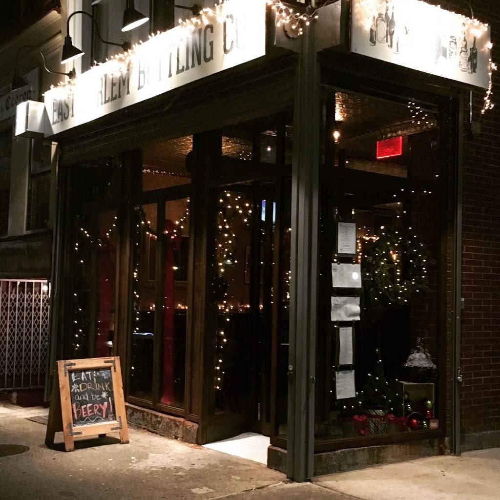 East Harlem Bottling Co. | restaurant | 1711 Lexington Ave, New York, NY 10029, USA | 6469227705 OR +1 646-922-7705