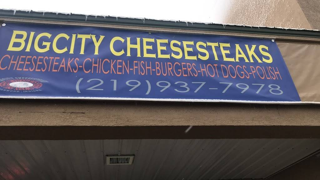 BigCity CheeseSteaks   restaurant   6421 Columbia Ave, Hammond, IN 46320, USA   2199377978 OR +1 219-937-7978