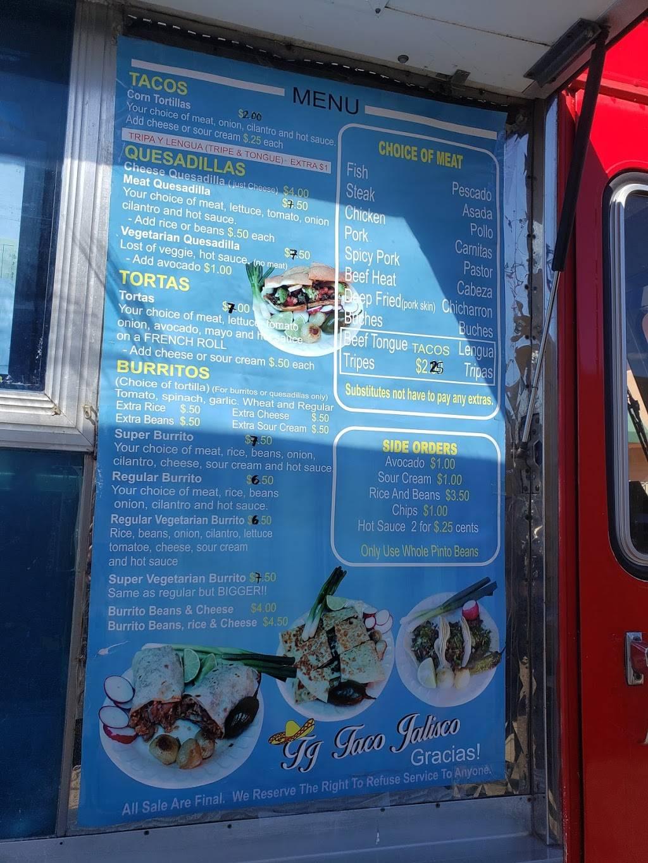 T J Taco Jalisco | restaurant | 457 Military W, Benicia, CA 94510, USA | 7077127247 OR +1 707-712-7247