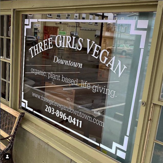Three Girls Vegan Downtown | restaurant | 23 Water St, Guilford, CT 06437, USA | 2038960411 OR +1 203-896-0411