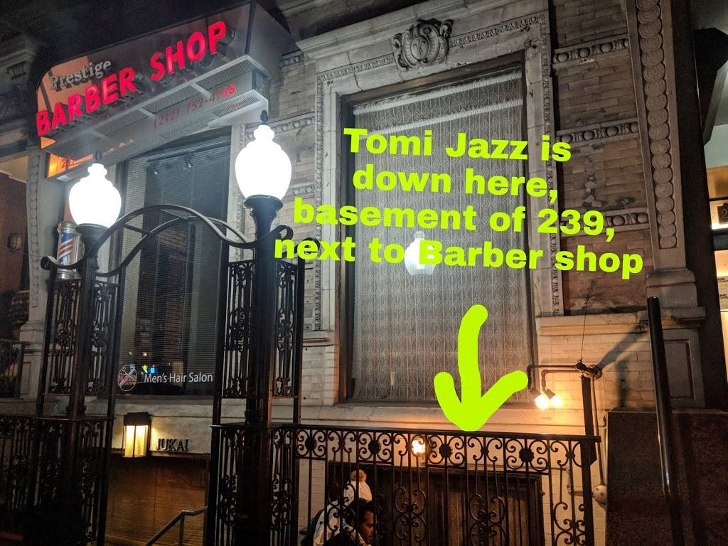 Tomi Jazz | restaurant | 239 E 53rd St, New York, NY 10022, USA | 6464971254 OR +1 646-497-1254