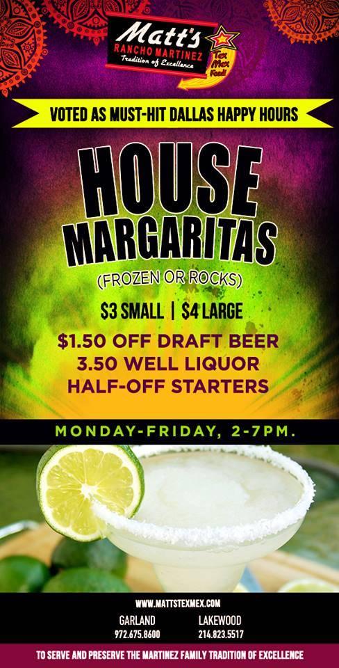 Matt's Rancho Martinez | restaurant | 4765 TX-276 W, Royse City, TX 75189, USA | 9726352930 OR +1 972-635-2930