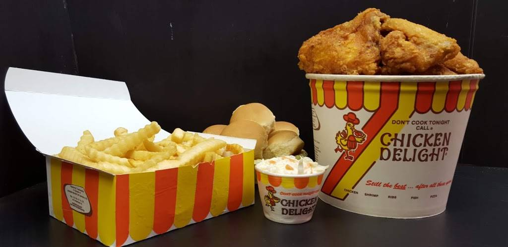 Chicken Delight   restaurant   731 Montgomery St, Jersey City, NJ 07306, USA   2014333012 OR +1 201-433-3012