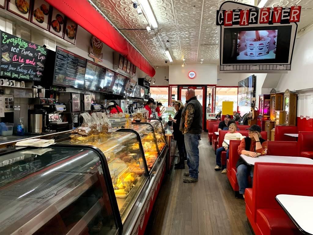 Clear River Ice Cream, Bakery & Deli   bakery   138 E Main St, Fredericksburg, TX 78624, USA   8309978490 OR +1 830-997-8490