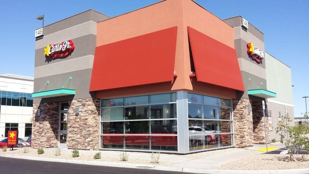 Carls Jr.   restaurant   146 N Stephanie St, Henderson, NV 89074, USA   7024836354 OR +1 702-483-6354