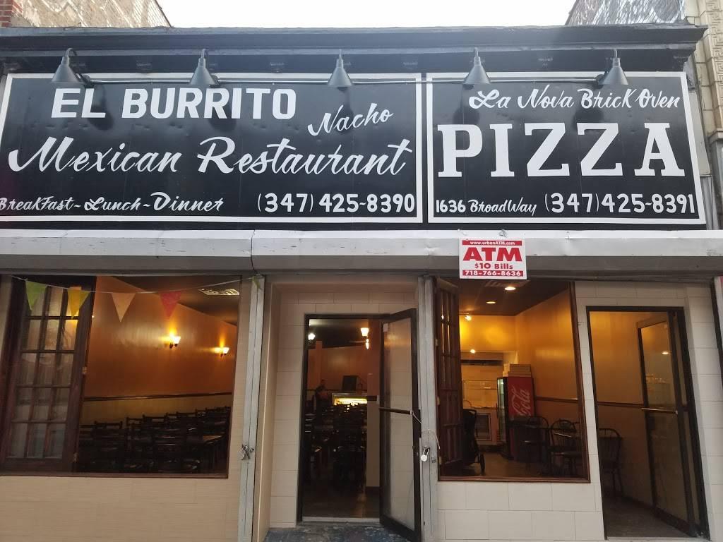 El Burrito Nacho   restaurant   1636 Broadway, Brooklyn, NY 11207, USA   3474258390 OR +1 347-425-8390