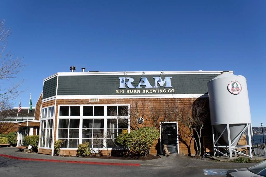 RAM Restaurant & Brewery   restaurant   3001 Ruston Way, Tacoma, WA 98402, USA   2537567886 OR +1 253-756-7886