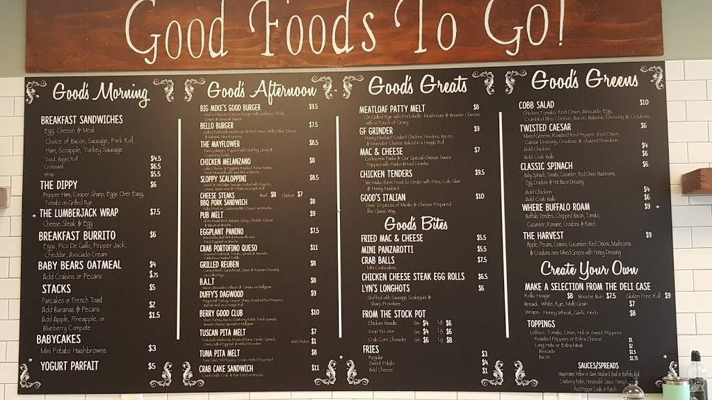 Good Foods To Go | meal takeaway | 4201 Church Rd, Mt Laurel, NJ 08054, USA | 8569838666 OR +1 856-983-8666