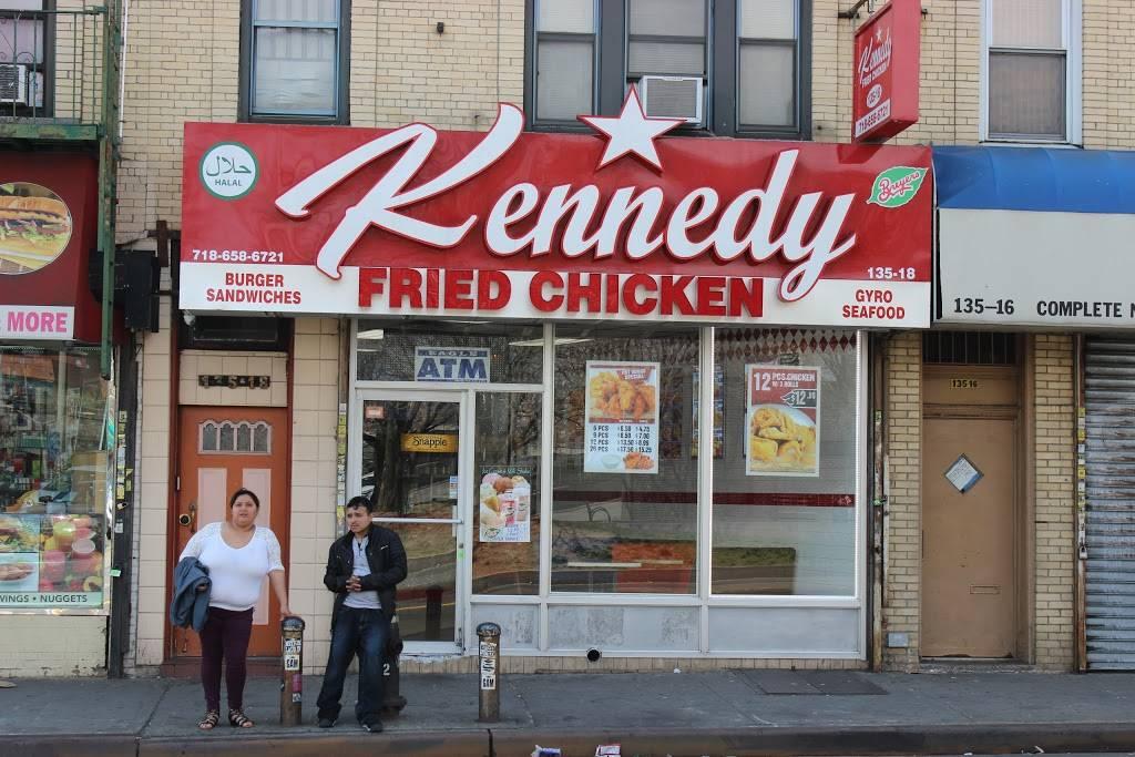 Kennedy Fried Chicken   restaurant   135-18 Jamaica Ave, Richmond Hill, NY 11418, USA   7186586721 OR +1 718-658-6721