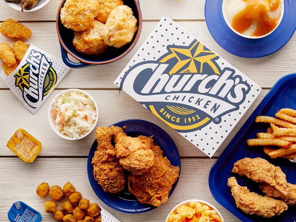 Churchs Chicken | restaurant | 1428 Forestdale Blvd, Birmingham, AL 35214, USA | 2057981221 OR +1 205-798-1221