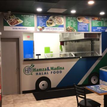 Hamza & Madina Halal Food - Restaurant | 729 Fulton Ave