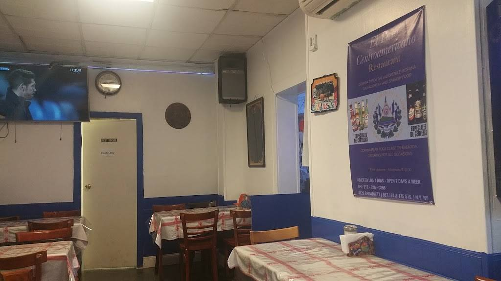 El Paso Centroamericano | restaurant | 4129 Broadway, New York, NY 10033, USA | 2129280866 OR +1 212-928-0866