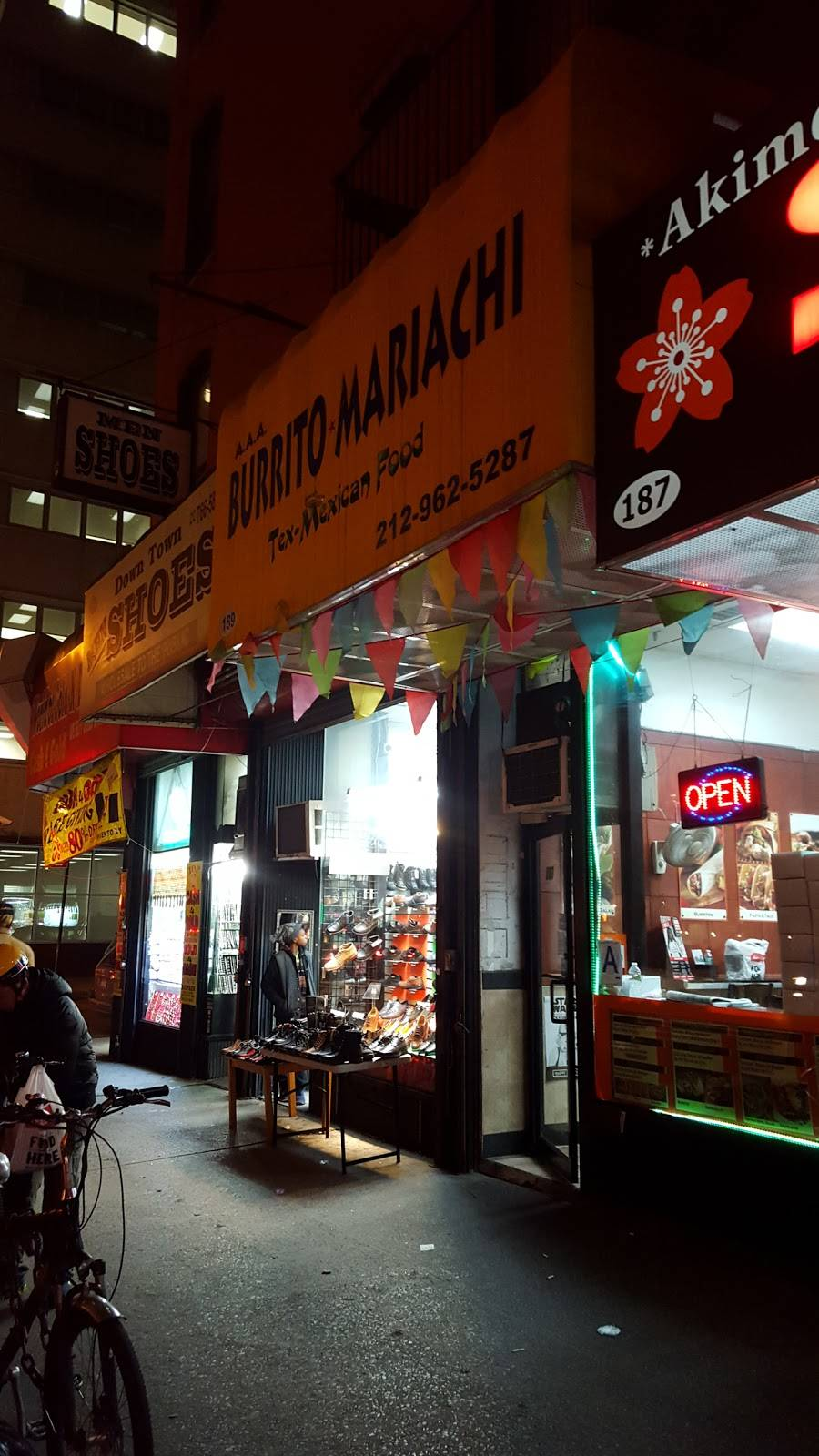 Burrito Mariachi | meal delivery | 189 Church St, New York, NY 10007, USA | 2129625287 OR +1 212-962-5287