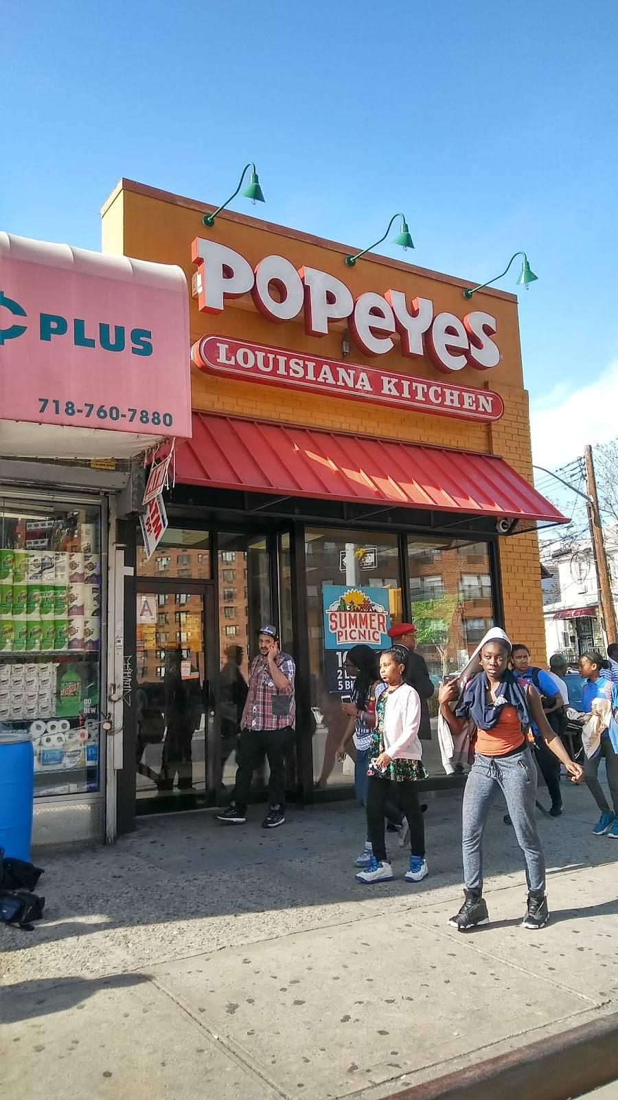 Popeyes Louisiana Kitchen   restaurant   9623 57th Ave, Corona, NY 11368, USA   7185925700 OR +1 718-592-5700