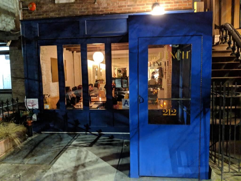 The Finch   restaurant   212 Greene Ave, Brooklyn, NY 11238, USA   7182184444 OR +1 718-218-4444