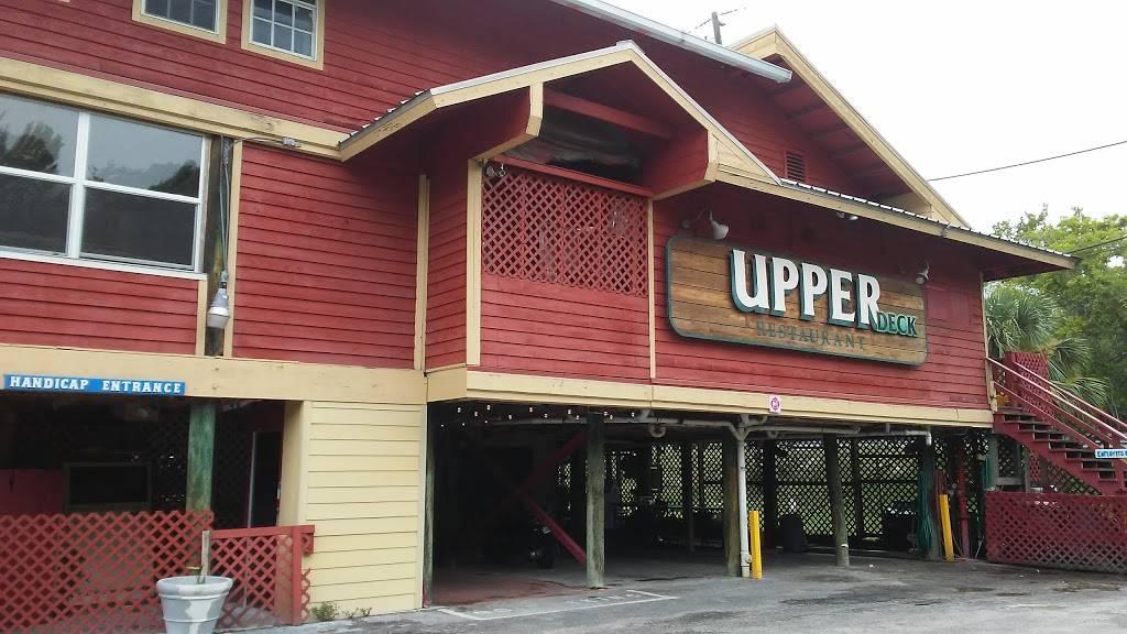 Upper Deck | restaurant | 5386 Darlene St, Weeki Wachee, FL 34607, USA | 3523405155 OR +1 352-340-5155