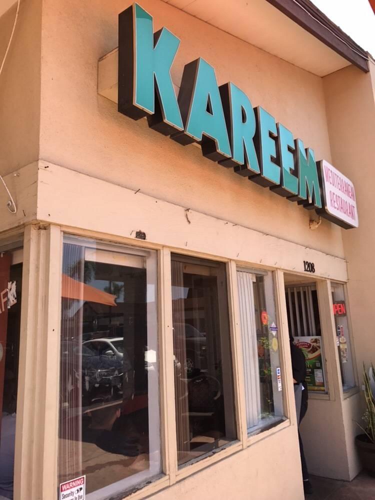Kareems | restaurant | 1208 S Brookhurst St, Anaheim, CA 92804, USA | 7147786829 OR +1 714-778-6829