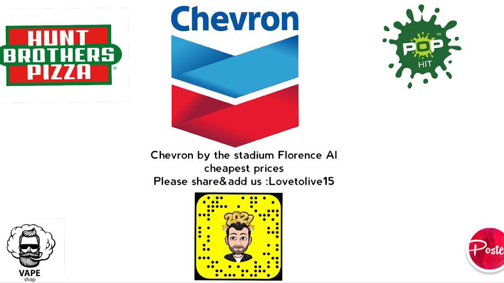 Chevron   meal takeaway   600 N Royal Ave, Florence, AL 35630, USA   2567660844 OR +1 256-766-0844