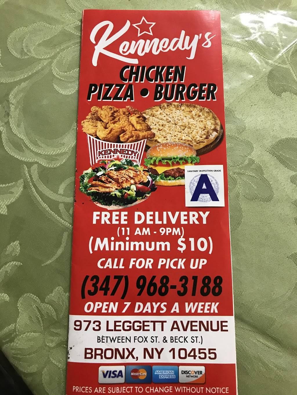 Kenedy Fried Chicken | restaurant | 973 Leggett Ave, Bronx, NY 10455, USA | 3479683188 OR +1 347-968-3188