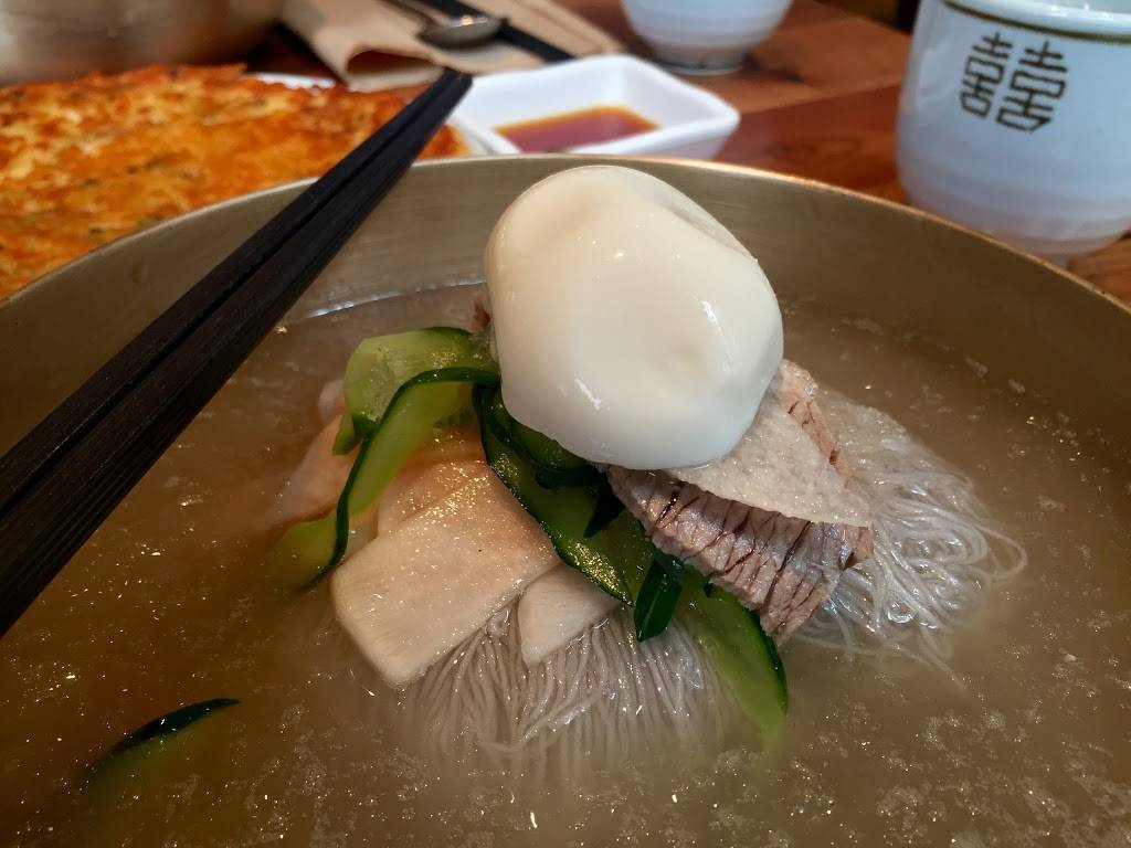 Choiga Naeng Myun 최가냉면 | restaurant | 110 Broad Ave, Palisades Park, NJ 07650, USA | 2019456300 OR +1 201-945-6300
