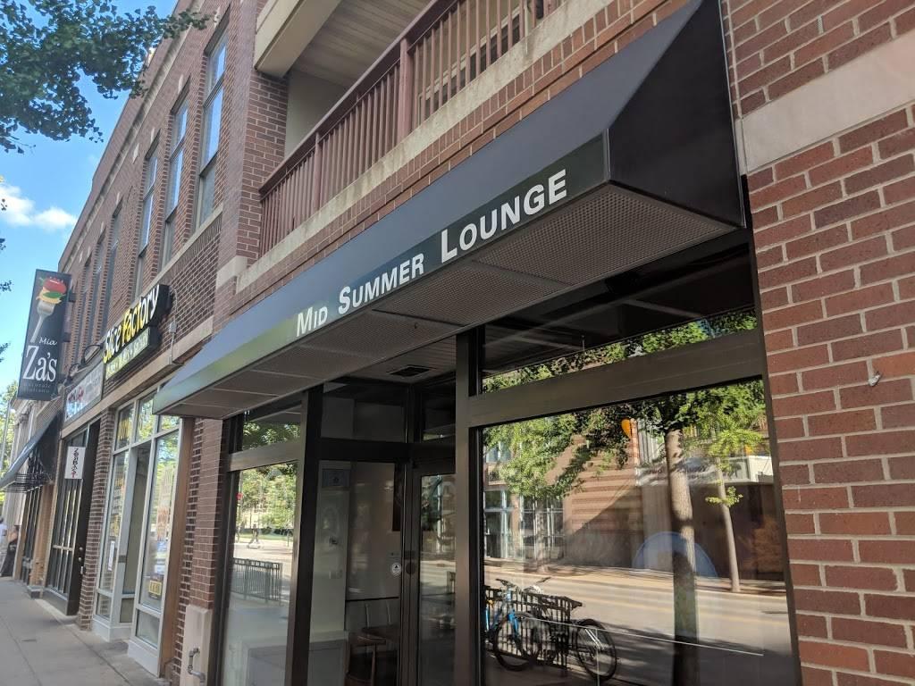 Mid Summer Lounge | restaurant | 623 E Green St, Champaign, IL 61820, USA | 2176071434 OR +1 217-607-1434