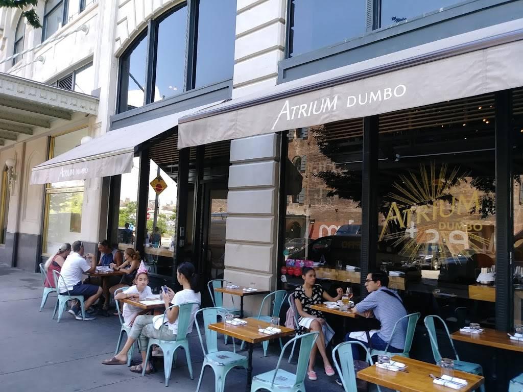 Atrium DUMBO   restaurant   15 Main St, Brooklyn, NY 11201, USA   7188581095 OR +1 718-858-1095