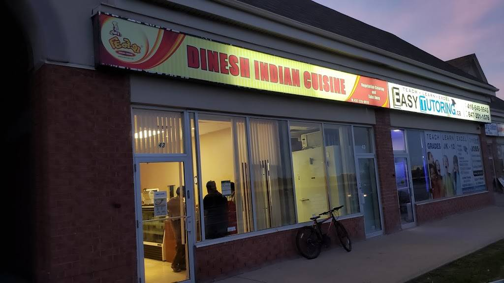 Dinesh Indian Cuisine   restaurant   43-8887 The Gore Rd, Brampton, ON L6P 0B7, Canada   4372260919 OR +1 437-226-0919