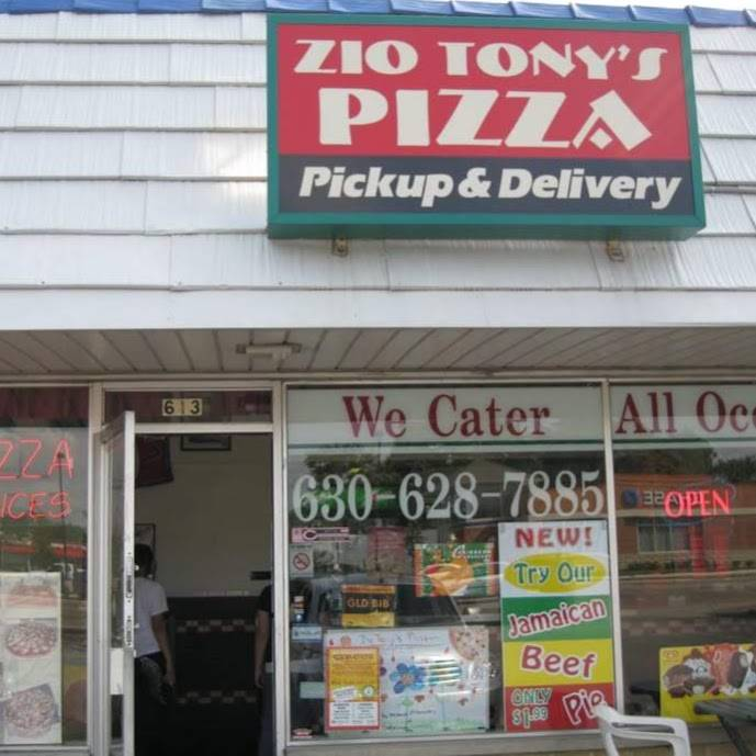 Zio Tonys Pizza   meal delivery   613 W Lake St, Addison, IL 60101, USA   6306287885 OR +1 630-628-7885